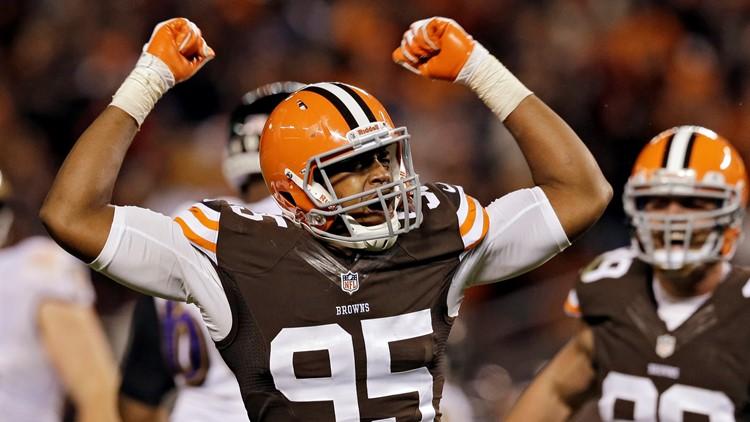 Cleveland Browns DE Armonty Bryant