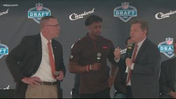Cleveland hosts 'Rock the Draft' press conference and tailgate