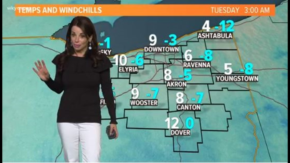 FORECAST | Brutal cold, lake effect snow on MLK Day