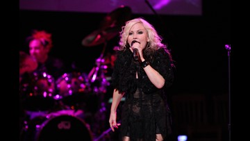 Berlin lead singer Terri Nunn visits Rock Hall, donates outfit and gives fans a concert