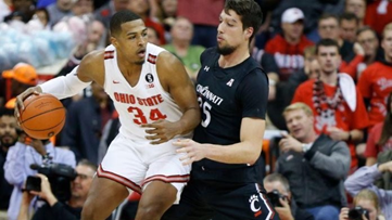 No. 18 Ohio State pulls away to beat Cincinnati 64-56