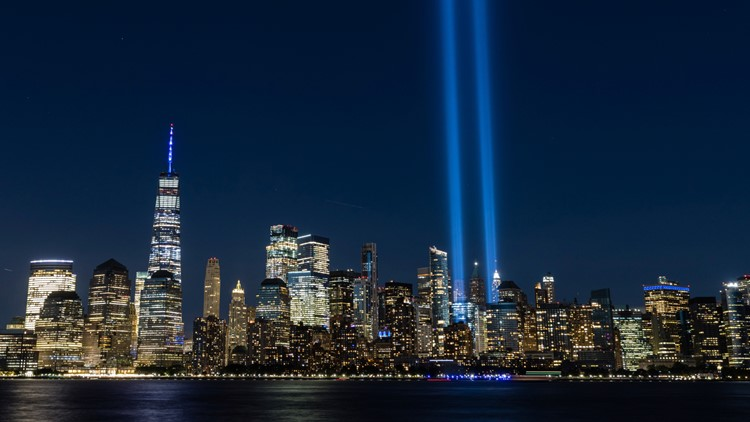 WATCH LIVE: Ceremony in New York marks 20 years since tragedy of Sept. 11, 2001