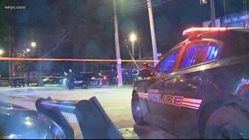 2 murdered in shooting outside Cleveland bar, suspect in custody