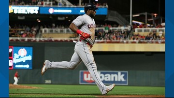 Cleveland Indians use 4-run 11th to top Minnesota Twins 6-2, cut lead to 5½