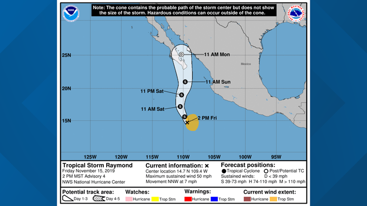 Tropical Storm Raymond
