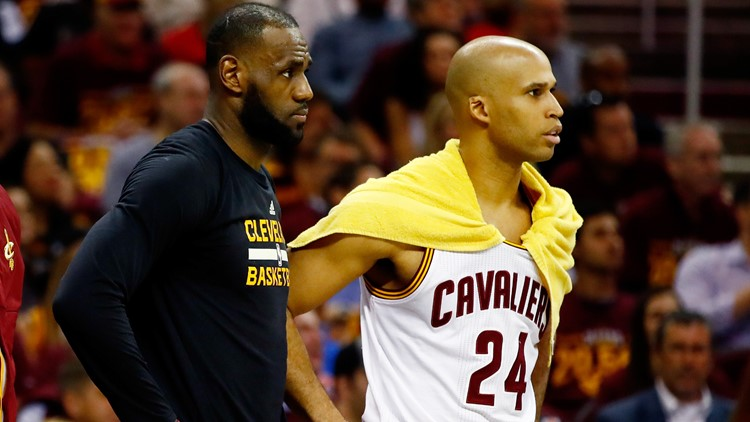 84e6008fbb6 Richard Jefferson  LeBron James and Kyrie Irving have a better relationship  than people realize
