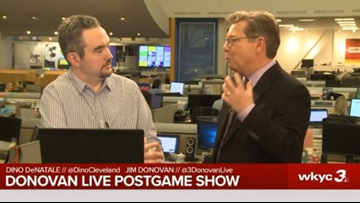 With Larry Drew out, who will the next coach of the Cleveland Cavaliers be? The Donovan Live Postgame Show