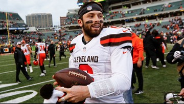 'Keep fighting' | Browns QB Baker Mayfield shares message of hope with Brunswick cancer survivor