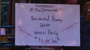 Northeast Ohioans react to Democratic presidential primary debate