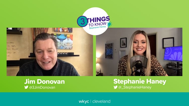 2021 NFL Draft in Cleveland: Voice of the Browns Jim Donovan previews Browns' moves & top picks on the 3 Things to Know with Stephanie Haney podcast