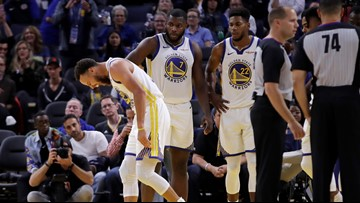 Golden State Warriors PG Steph Curry mulling surgery options after suffering broken right hand