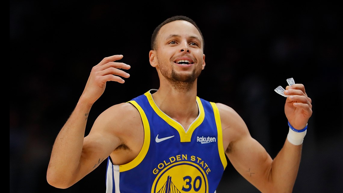 Stephen Curry doesn't believe moon landing was real