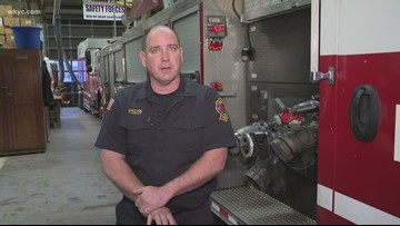 Firefighter speaks out after rescuing child from house fire