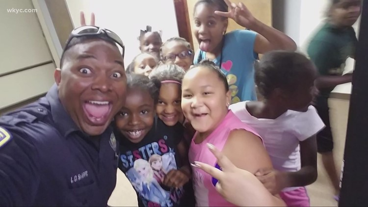 '21 Strong: Meet the officer behind the badge who is inspiring change in his community