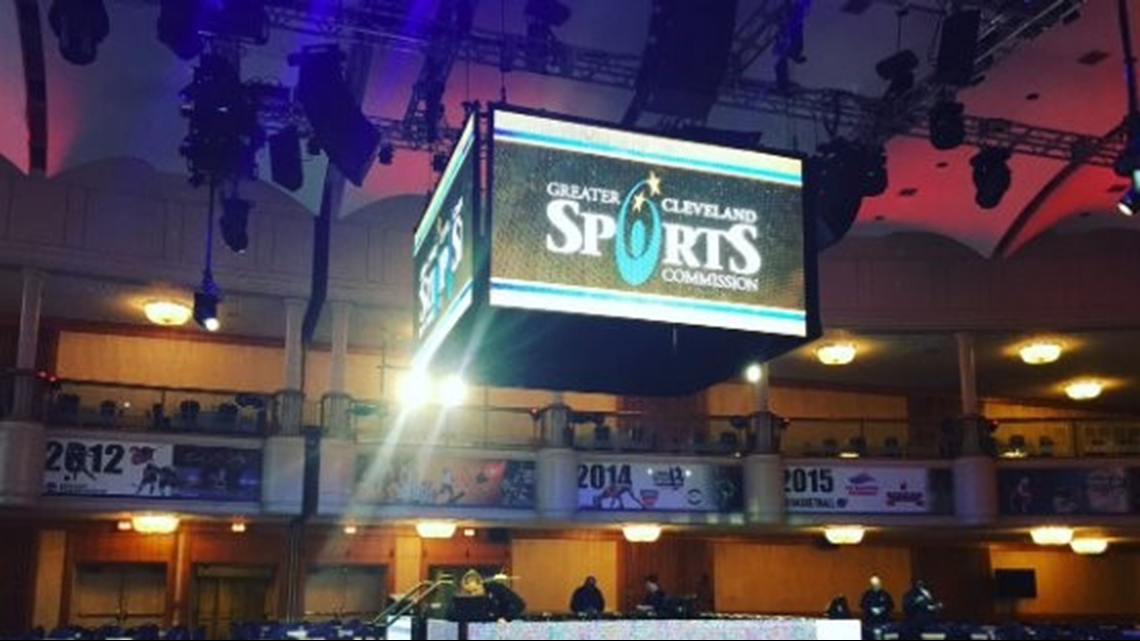 Sights and sounds from the 2020 Greater Cleveland Sports Awards