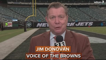 Voice of the Browns Jim Donovan has a preview of tonight's game between the Cleveland Browns and New York Jets