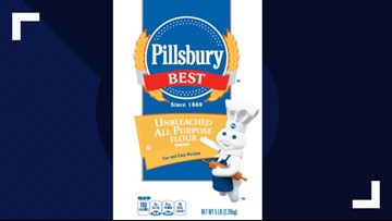 Pillsbury flour recalled for possible salmonella contamination