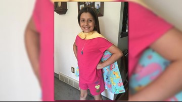Memorial service, blood drive to be held in memory of 10-year-old Oliviah Hall