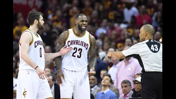 Kevin Love: Stepping over another player is disrespectful