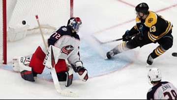 Blue Jackets drop Game 1 of 2nd round series with Boston Bruins, 3-2 in OT