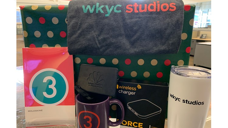 Countdown to a Cleveland Christmas sweepstakes 3News swag