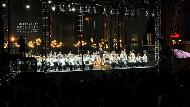 Cleveland Orchestra performs at Star Spangled Spectacular