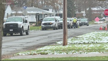 Columbia Gas stops services in Elyria impacting 2,100 customers, Elyria Schools closed Friday