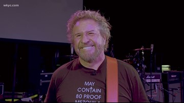 Sammy Hagar on Rock Hall induction, going strong at 71 and Cleveland memories