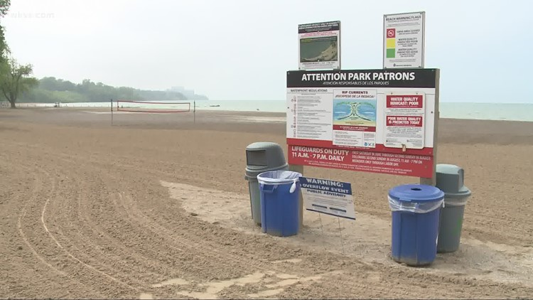 Water quality for Friday is poor at Edgewater Beach