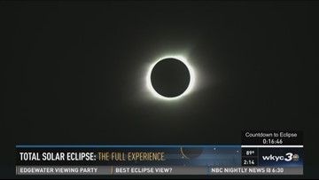 Betsy Kling covers the eclipse from path of totality