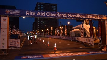 Female runner collapses during Rite Aid Cleveland Marathon