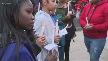 Vigil held for Canton teen who was shot and killed
