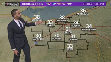 FORECAST   Beautiful (but chilly) weekend ahead