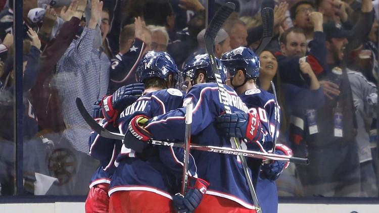 Boston Bruins-Columbus Blue Jackets Hockey