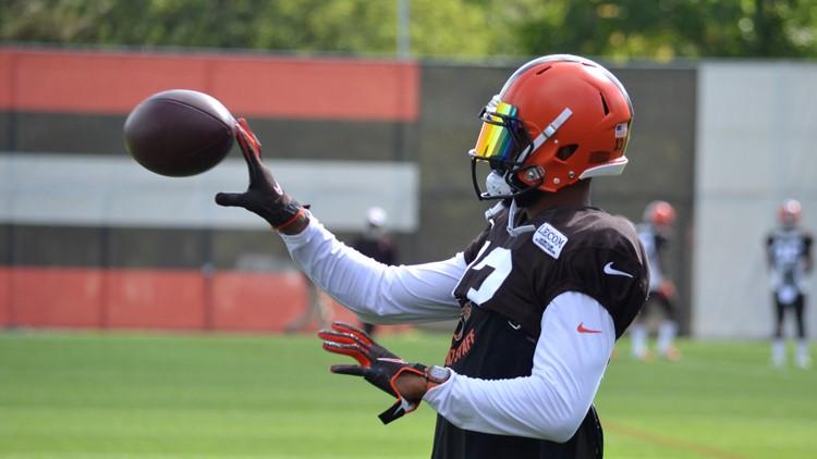 Odell Beckham Jr. Cleveland Browns Practice September 4, 2019