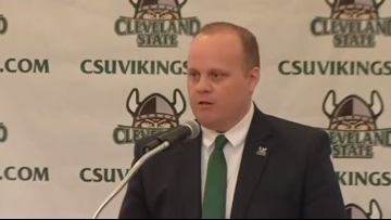 Cleveland State University names Scott Garrett as athletic director