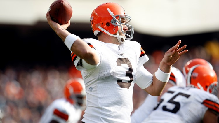Derek Anderson Cleveland Browns-Chicago Bears Football 2
