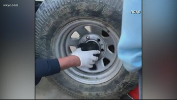 Worth The Watch: Precocious puppy rescued from a spare tire