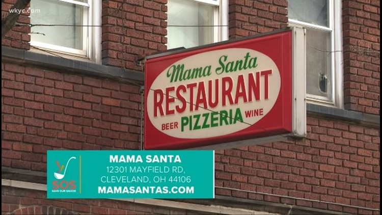 Mama Santa's restaurant in Cleveland's Little Italy: Save our Sauce campaign