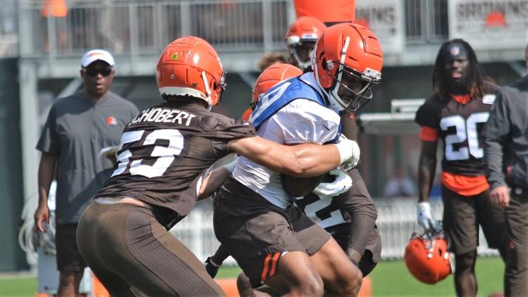 Braxton Miller Cleveland Browns Training Camp August 21, 2019