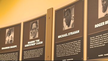 Pro Football Hall of Fame unveils exhibit honoring historically black college & university legends