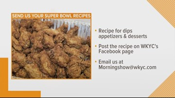 Send us your best Super Bowl recipe and we may make it on TV
