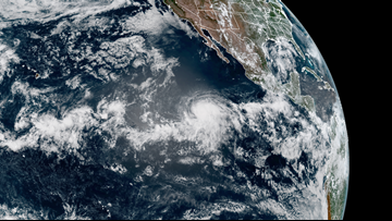 2nd hurricane of eastern Pacific season forms off Mexico