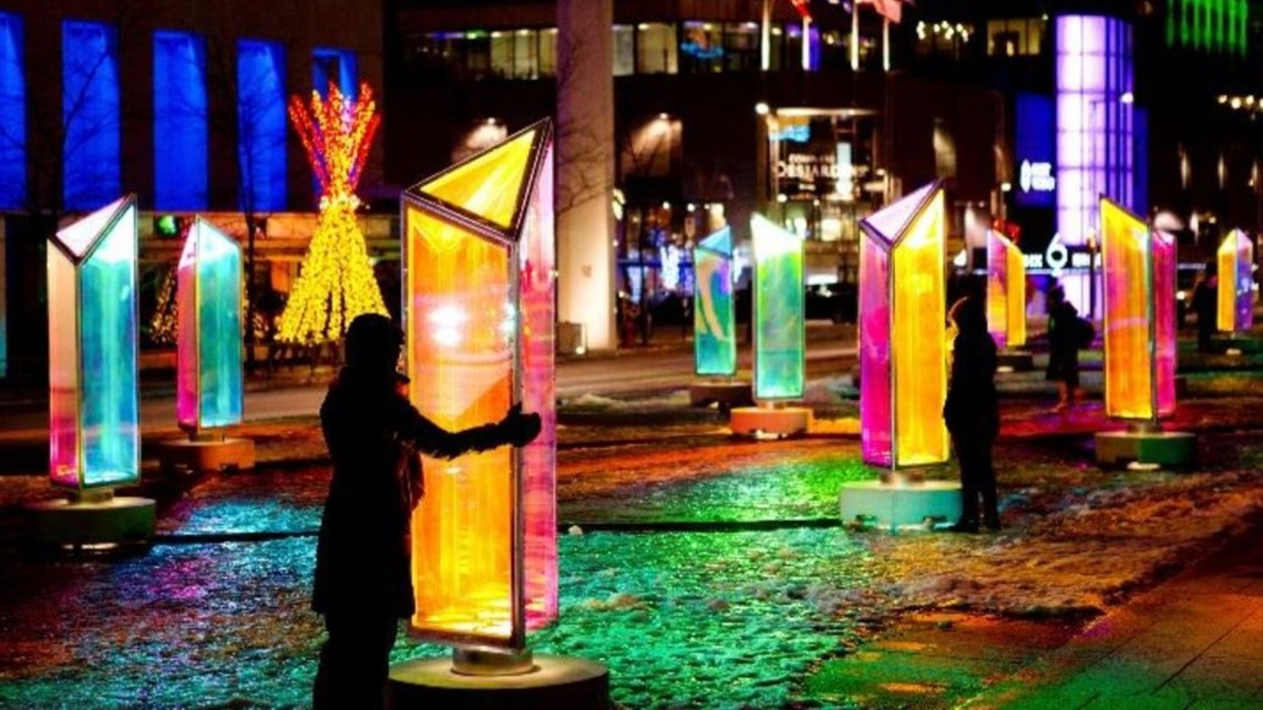 Cleveland's Public Square will transform into 'Prismatica' light exhibit this weekend