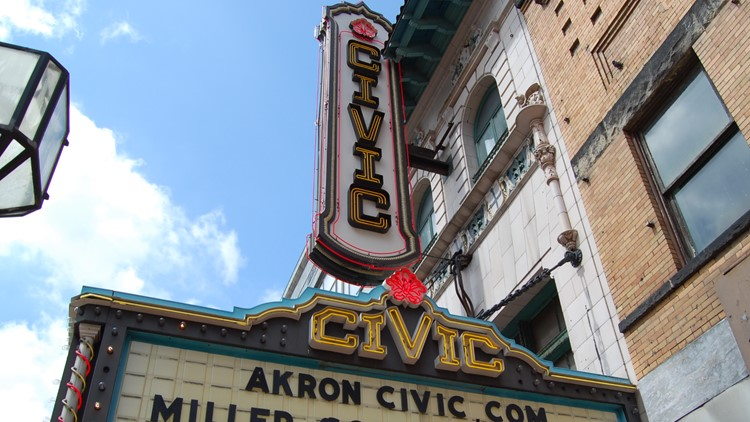 Akron Civic Theatre unveils newly renovated Grand Lobby