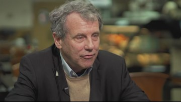 Russ Mitchell goes one-on-one with Sherrod Brown