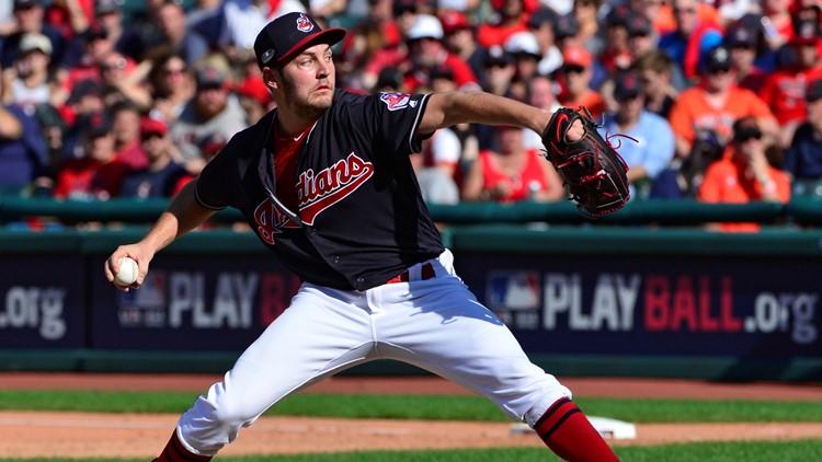 Cleveland Indians RHP Trevor Bauer