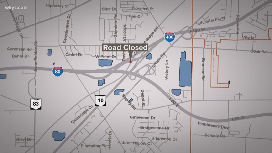 Massive delays on Ohio Turnpike following crash in Lorain County