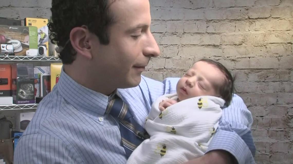 Deal Boss Matt Granite Introduces His Baby Daughter