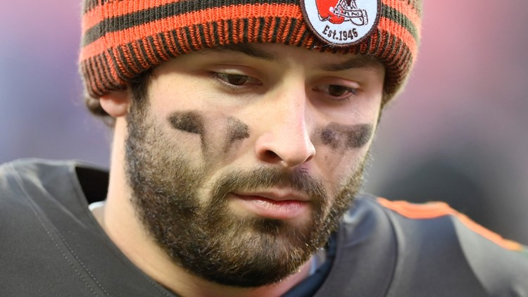 Baker Mayfield Baltimore Ravens-Cleveland Browns Football